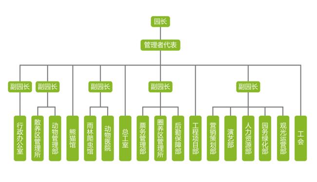 图一:       质量及环境体系组织结构图