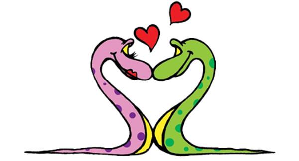卡通画蛇 各种形态的小蛇卡通画图片大全7_卡通画